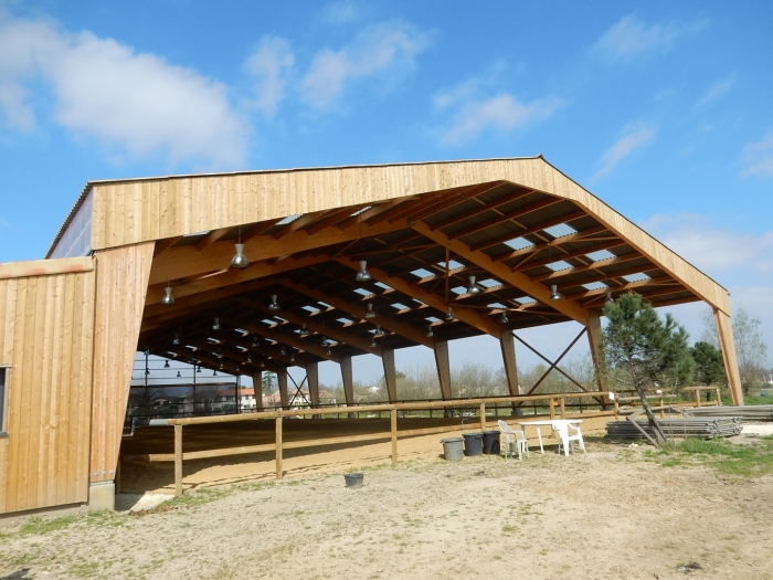 manege equestre James constructeur