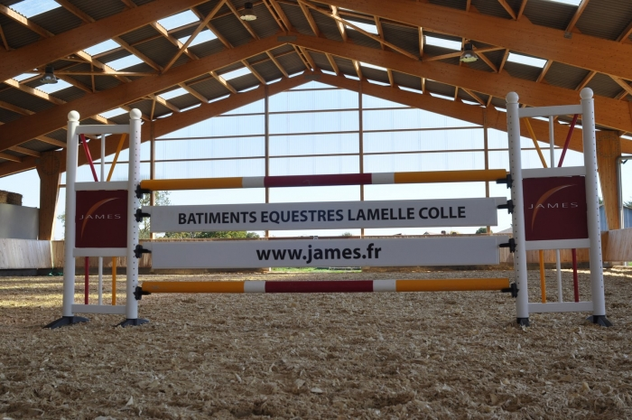 batiment equestre James lamelle colle