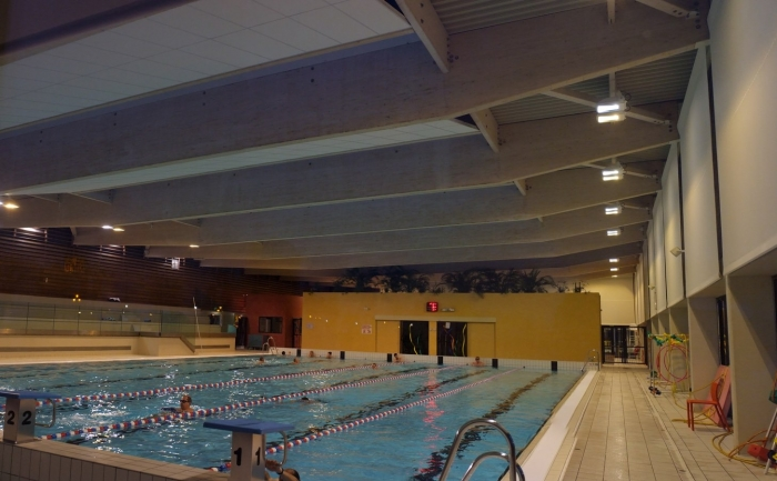 piscine couverte structure bois lamelle colle construction James
