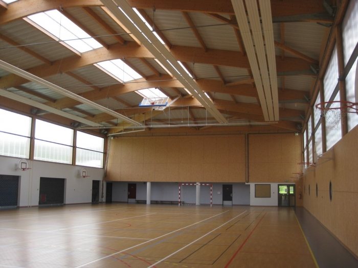 salle sport structure bois lamelle colle construction James